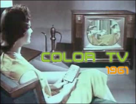 Color TV 1961