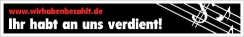 Aktion für günstige, legale und DRM-freie Musik