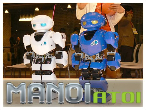 Roboter-Wettrennen