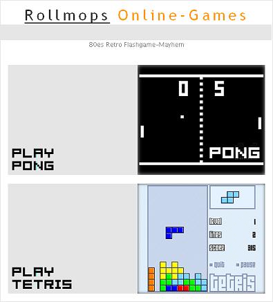 Rollmops-Onlinegames