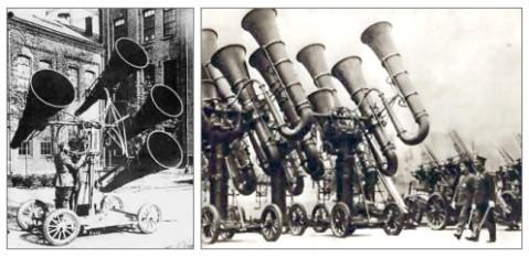 Akustischer Radar