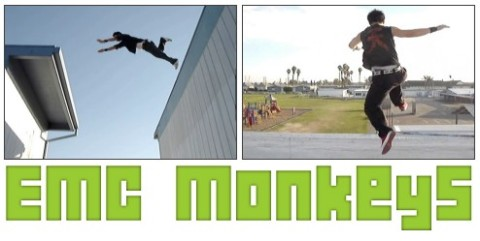 EMC Monkeys - Stuntparkour