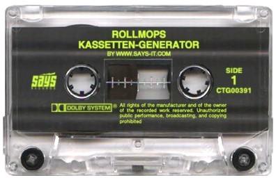 Kasseten-Generator