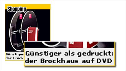 Brockhaus-Anzeige