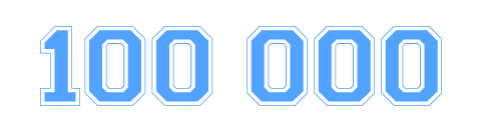 100 000 Besucher