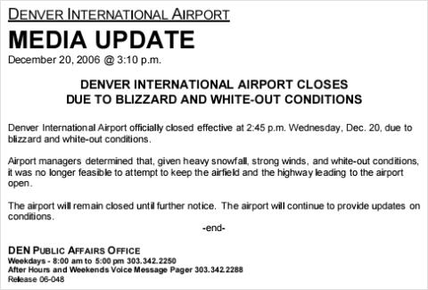 Denver-Airport Press