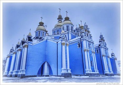 Kiev-Church-Blue