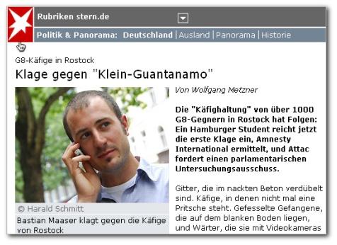 Klage-GeSa-Rostock-Stern
