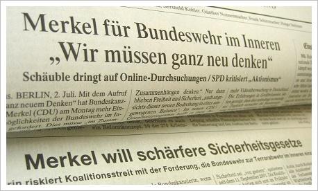 Bundeswehr-Zeitungen