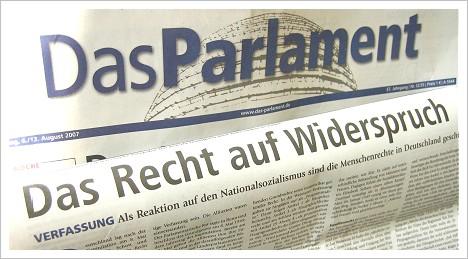Parlament-Verfassungsartikel