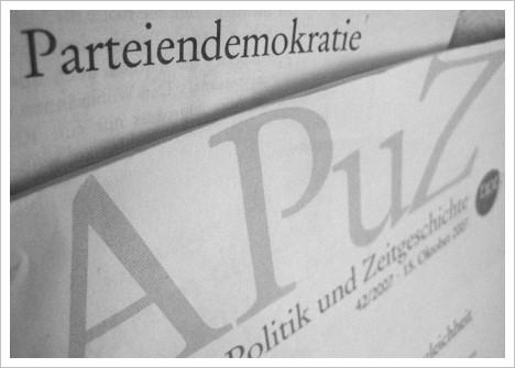 Apuz-Parteiendemokratie
