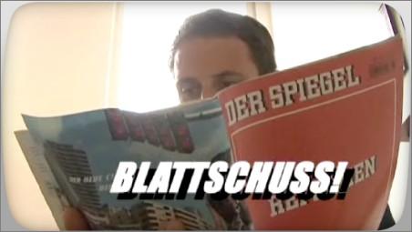 Spiegel-Blattschuss