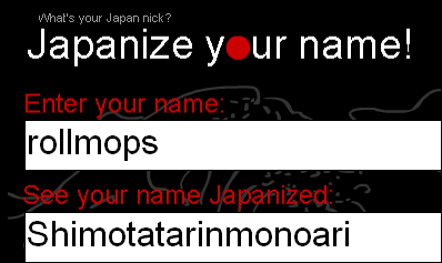 Japanizer
